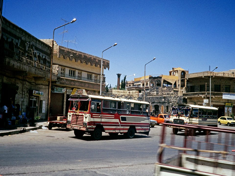 Bild Syrien Bus